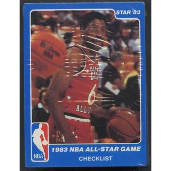 1983 Star Co. Basketball All-Star Game Bagged Set