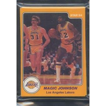 1983/84 Star Co. Basketball Lakers Bagged Set