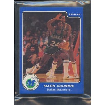1983/84 Star Co. Basketball Mavericks Bagged Set