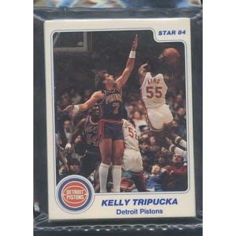 1983/84 Star Co. Basketball Pistons Bagged Set
