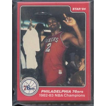 1983/84 Star Co. Basketball Sixers Champs Bagged Set