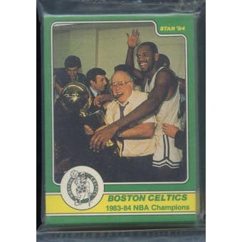 1984 Star Co. Basketball Celtics Champs Bagged Set