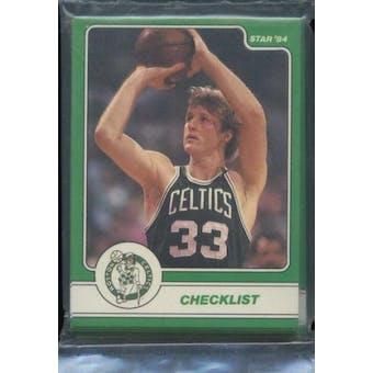 1984 Star Co. Basketball Larry Bird Bagged Set