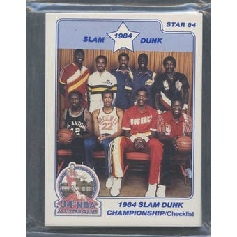1984 Star Co. Basketball Slam Dunk Bagged Set