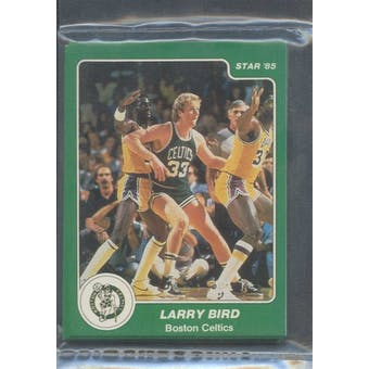 1984/85 Star Co. Arena Celtics Complete Sealed Bagged Set
