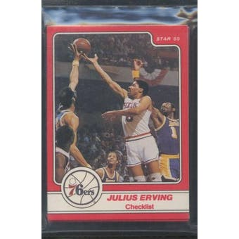 1984/85 Star Co. Basketball Julius Erving Bagged Set