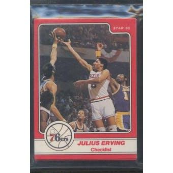 1984/85 Star Co. Basketball Julius Erving Bagged Set