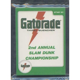 1985 Star Co. Basketball Gatorade Slam Dunk Bagged Set