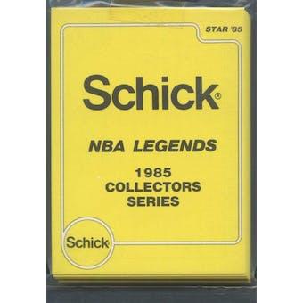 1985 Star Co. Basketball Schick Legends Bagged Set