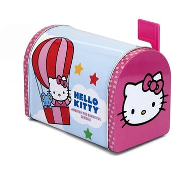 HUGE Hello Kitty Collectible Tin Mailbox 864-Tin LOT -$10,000+ SRP!!!