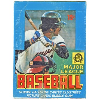 1979 O-Pee-Chee Baseball Wax Box