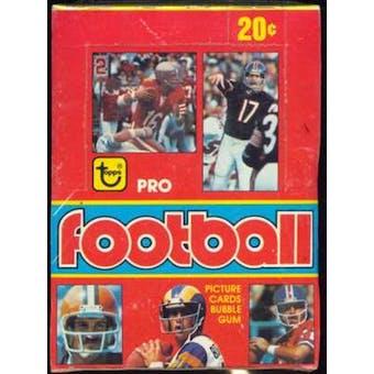 1979 Topps Football Wax Box