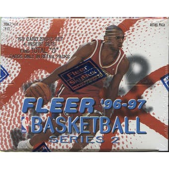 1996/97 Fleer Series 2 Basketball Retail Box