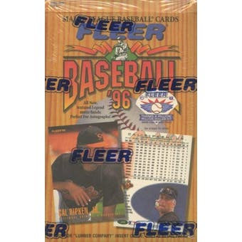 1996 Fleer Baseball Hobby Box