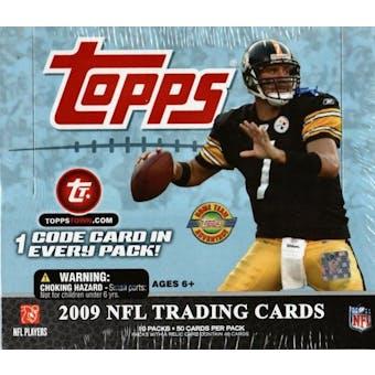 2009 Topps Football Jumbo Box