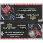 2001 Upper Deck MVP Baseball Prepriced Box (Reed Buy)