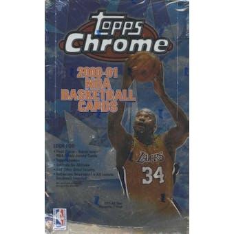 2000/01 Topps Chrome Basketball Retail Box