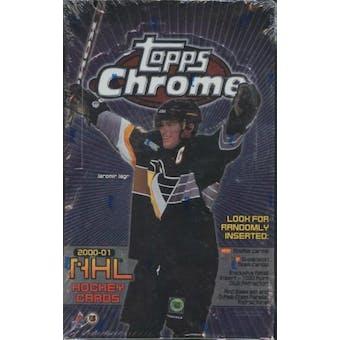 2000/01 Topps Chrome Hockey Retail Box