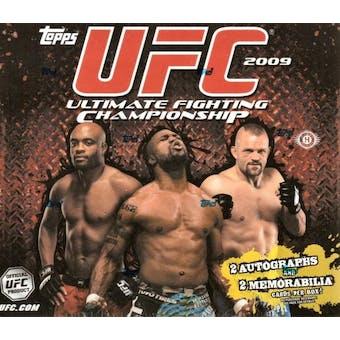 2009 Topps UFC Series 2 Hobby Box