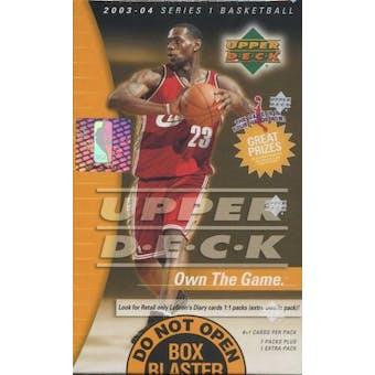 2003/04 Upper Deck Basketball Blaster 8 Pack Box