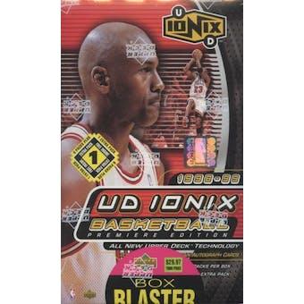 1998/99 Upper Deck Ionix Basketball Blaster 7 Pack Box