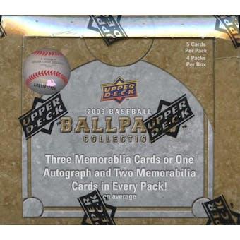 2009 Upper Deck Ballpark Collection Baseball Hobby Box