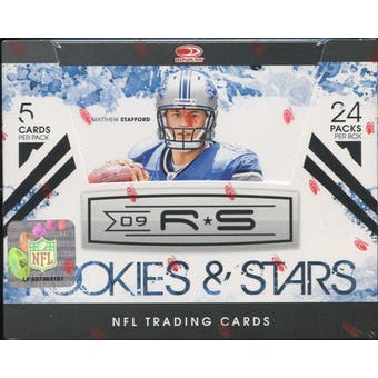 2009 Donruss (Leaf) Rookies & Stars Football Hobby Box