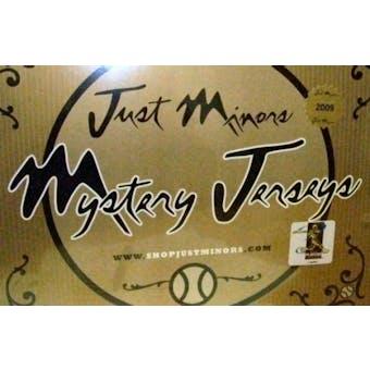 2009 Just Minors Mystery Jersey Baseball Hobby Box