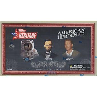 2009 Topps Heritage American Heroes Edition Baseball Hobby Box