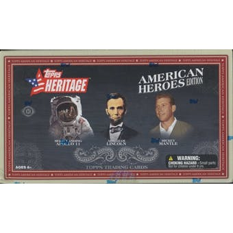2009 Topps Heritage American Heroes Edition Baseball Hobby Box