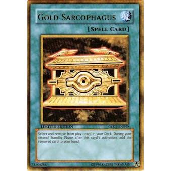 Yu-Gi-Oh Gold Series 2 Single Gold Sarcophagus