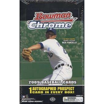 2009 Bowman Chrome Baseball Hobby Box