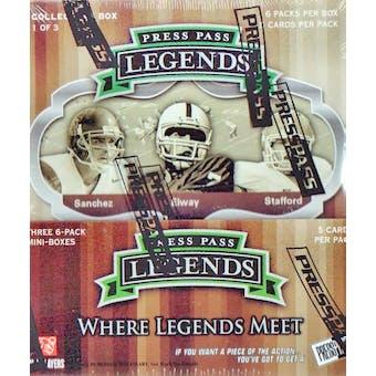 2009 Press Pass Legends Football Hobby Box