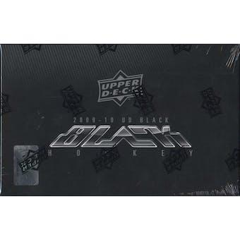 2009/10 Upper Deck Black Hockey Hobby Box