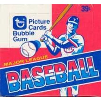 1979 Topps Baseball Cello Box (Ex box, Near Mint packs)