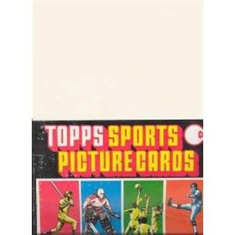 1980 Topps Baseball Rack Box
