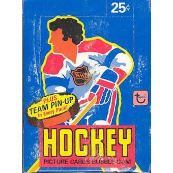 1980/81 Topps Hockey Wax Box