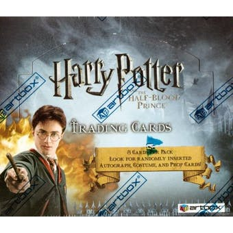 Harry Potter and the Half-Blood Prince Hobby Box (2009 Artbox)