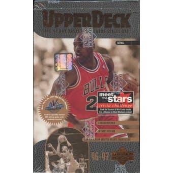 1996/97 Upper Deck Series 1 Basketball Retail Box