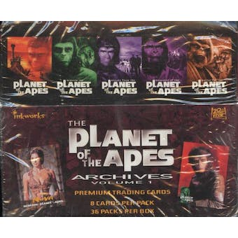 Planet of the Apes Archives Hobby Box (1999 Inkworks)