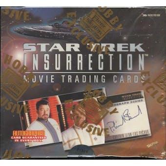 Star Trek Insurrection Hobby Box (1998 Skybox)
