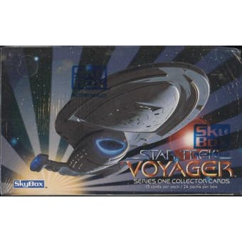 Star Trek: Voyager Season One 24 Pack Box (1995 Skybox)