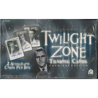 Twilight Zone Premiere Edition Trading Cards Box (Rittenhouse 2009)