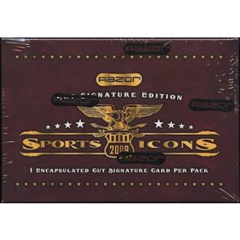 2009 Razor Sports Icons Hobby Box