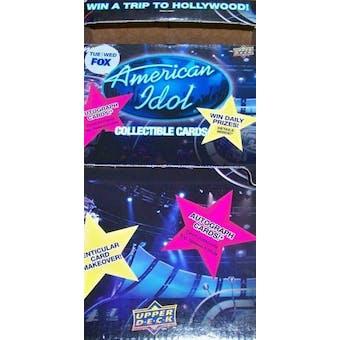 American Idol 36-Pack Box (2009 Upper Deck)