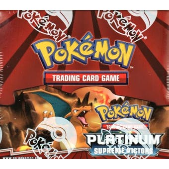 Pokemon Platinum Supreme Victors Booster Box