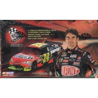 2009 Press Pass Series 2 Racing Hobby Box