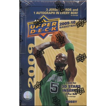 2009/10 Upper Deck Basketball Hobby Box