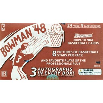 2009/10 Bowman '48 Basketball Hobby Box