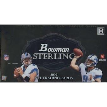 2009 Bowman Sterling Football Hobby Box
